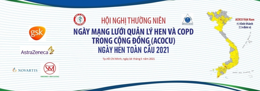 Ngày mạng lưới quản lý Hen - COPD trong cộng đồng (ACOCU) - 16/05/2021